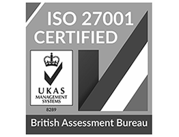 British Assessment Bureau ISO 27001 certified logo